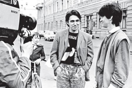 1991 г., с Сергеем Курёхиным